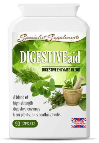 Digestiveaid, High-Strength Digestive Enzymes Blend